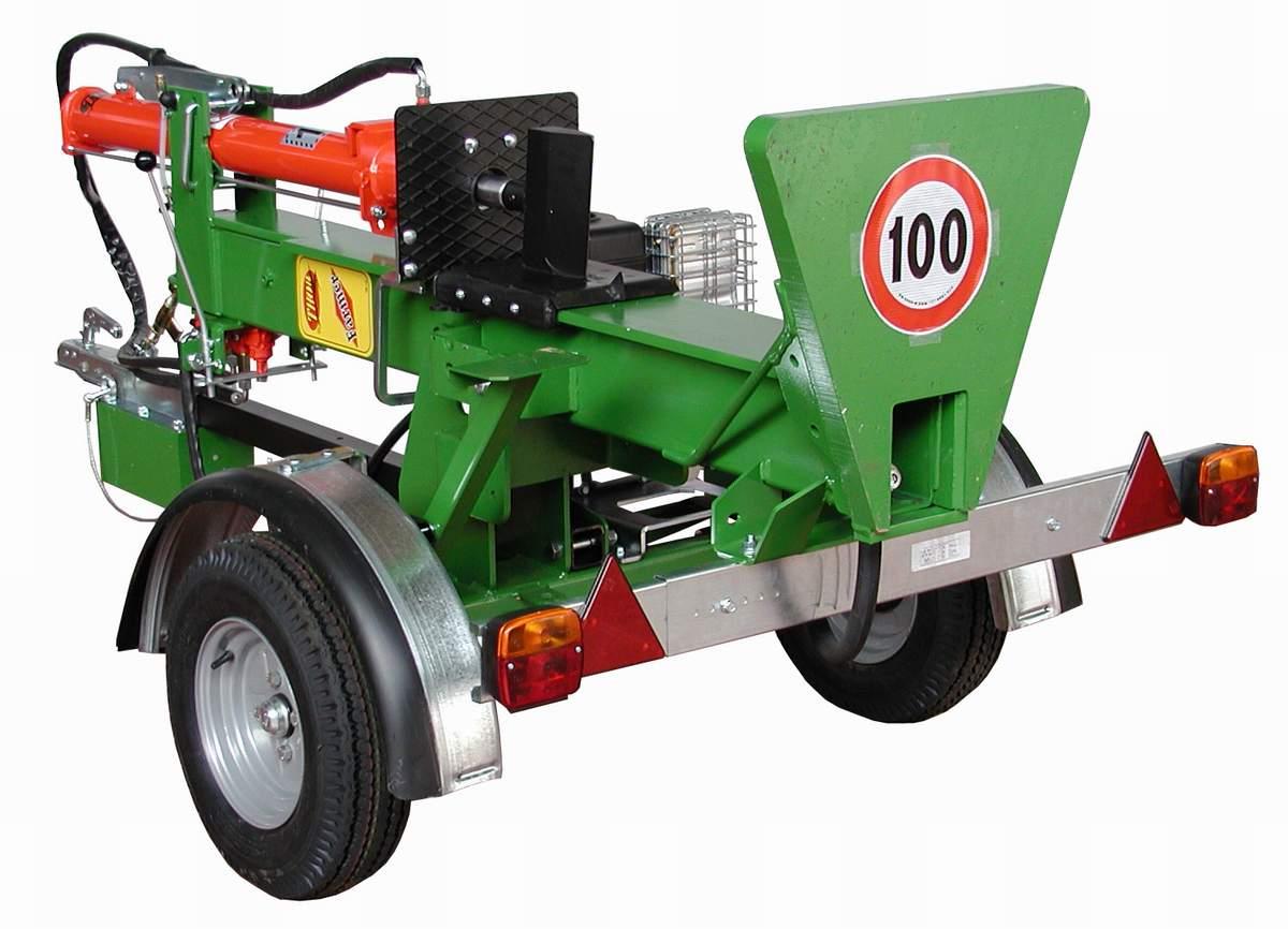 Thor houtklover Farmer 13 ton 80Km/uur onderstel